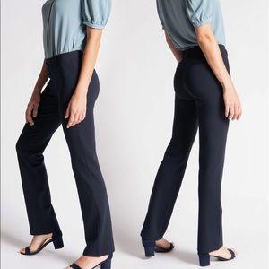 Betabrand Dress Pant Yoga Pants Black Plus Sz 2XLP